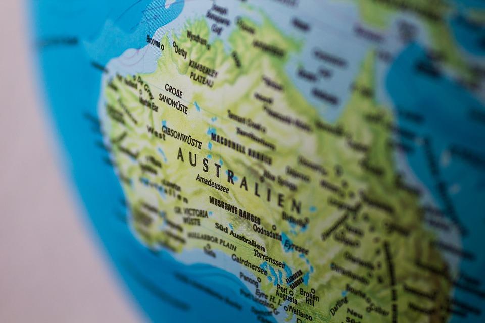 Map of Australia, Traveling in Australia, Travel To Australia, Australia on a budget,