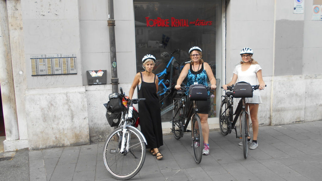 Bicycle Touring Rome