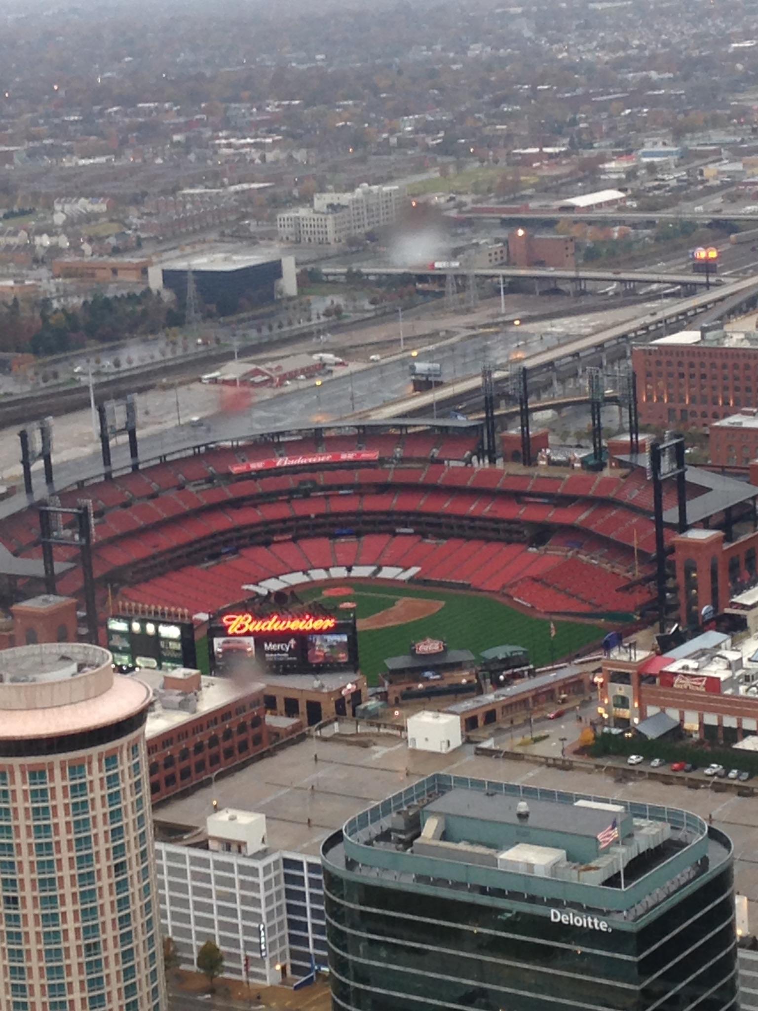 Gateway Arch, St. Louis, Missouri, thrill, ride, view, Busch Stadium