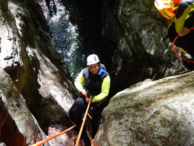 Canyoning Lucca, Italy