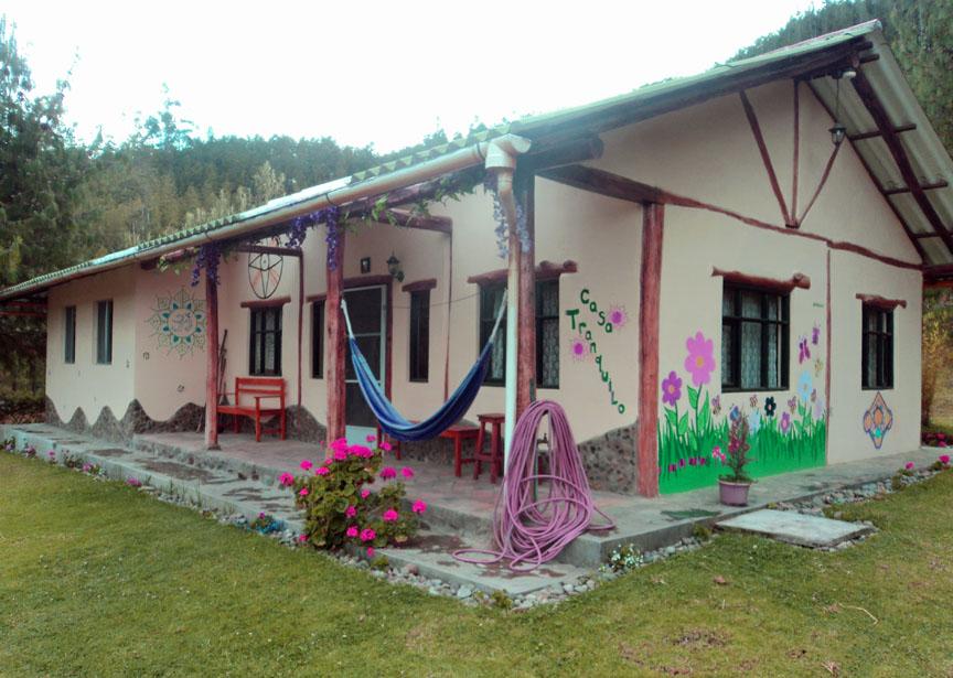 Casa Tranquilo, Gaia Sagrada, ayahuasca, Ecuador