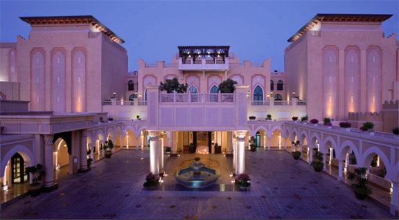 Luxury spa hotel in Abu Dhabi