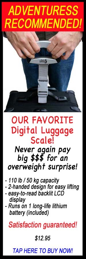 digital luggage scale, weigh your luggage