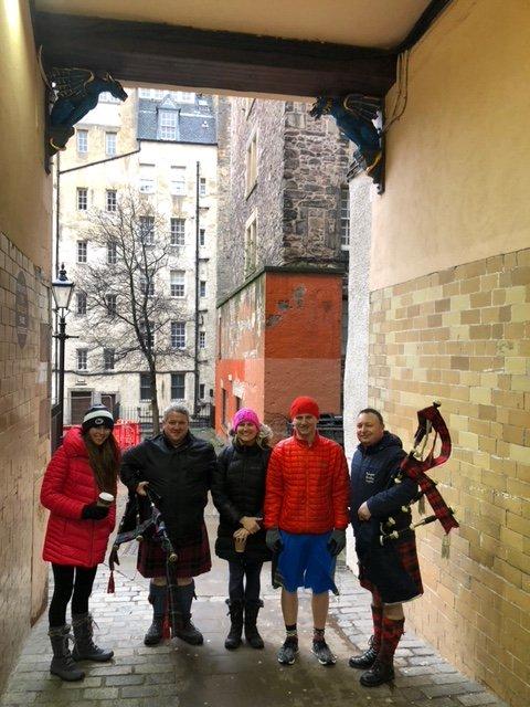 bagpipes,baked beans,Scotland,Edinburgh,kilts