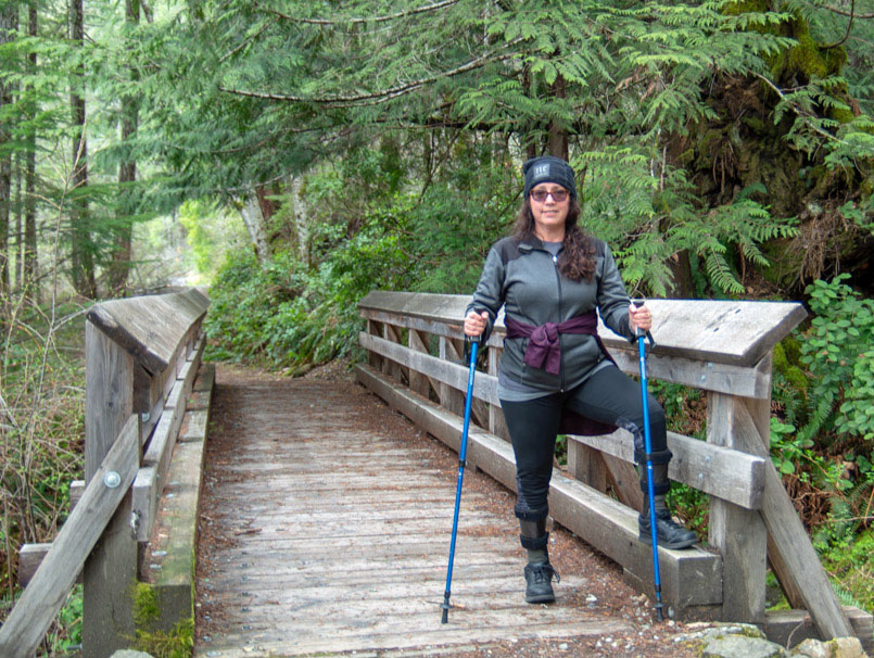 Outdoor vacation with a disability