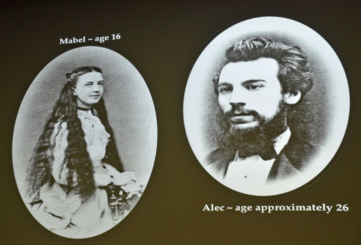 Mabel Hubbard and Alexander Bell