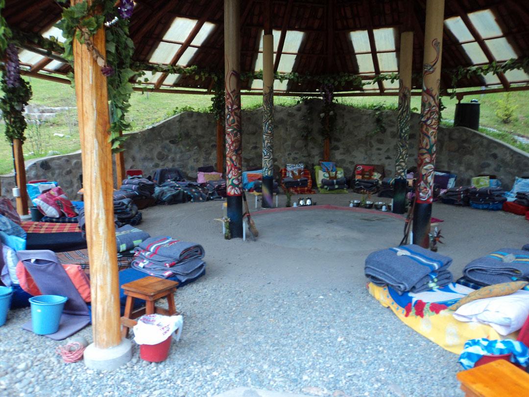 Maloka, Gaia Sagrada, ayahuasca, Ecuador