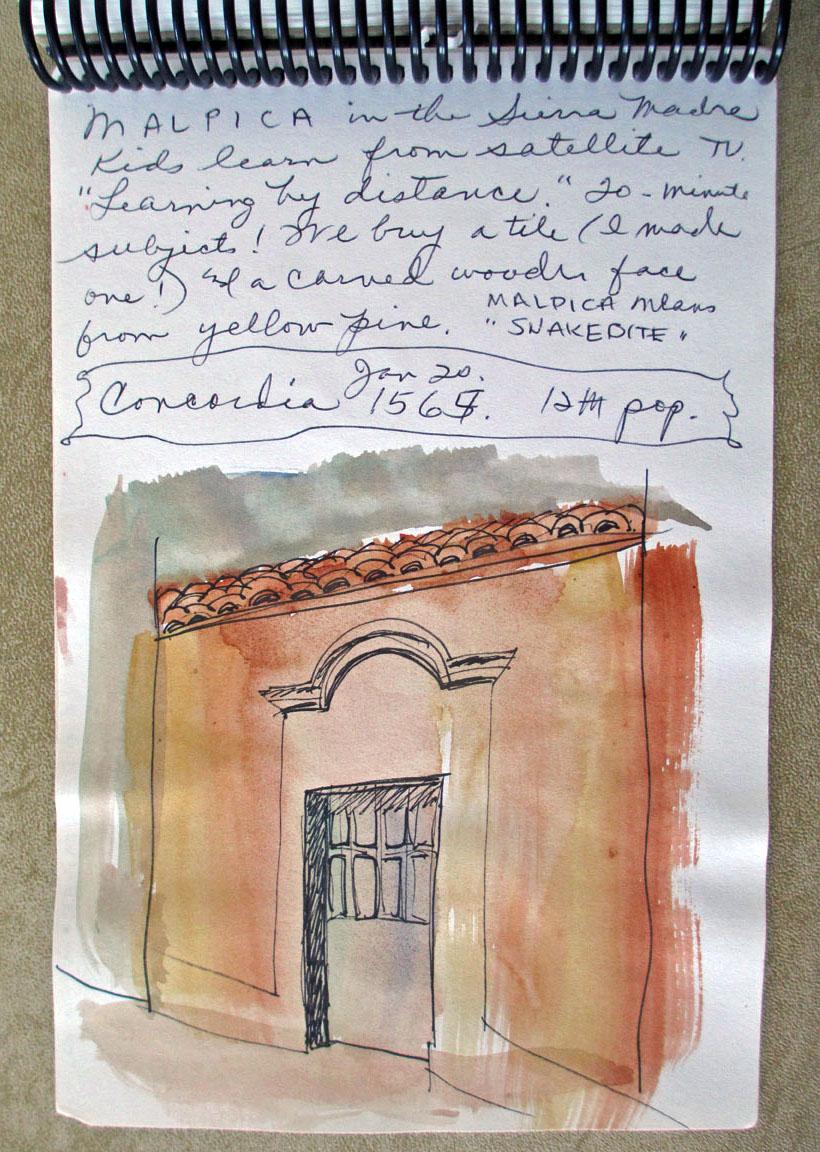 art journal Mexico