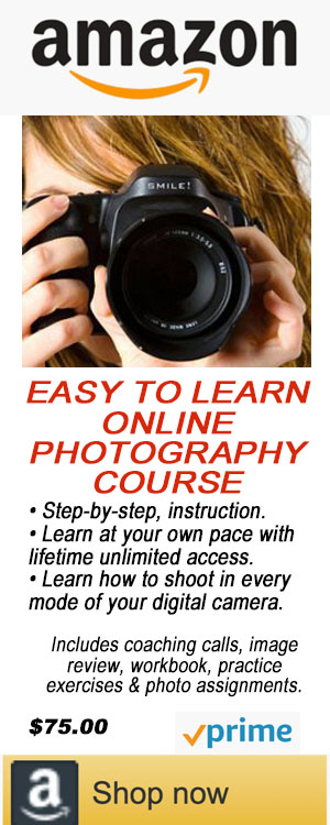 EASY TO LEARN PHOTOGRAPHY COURSE