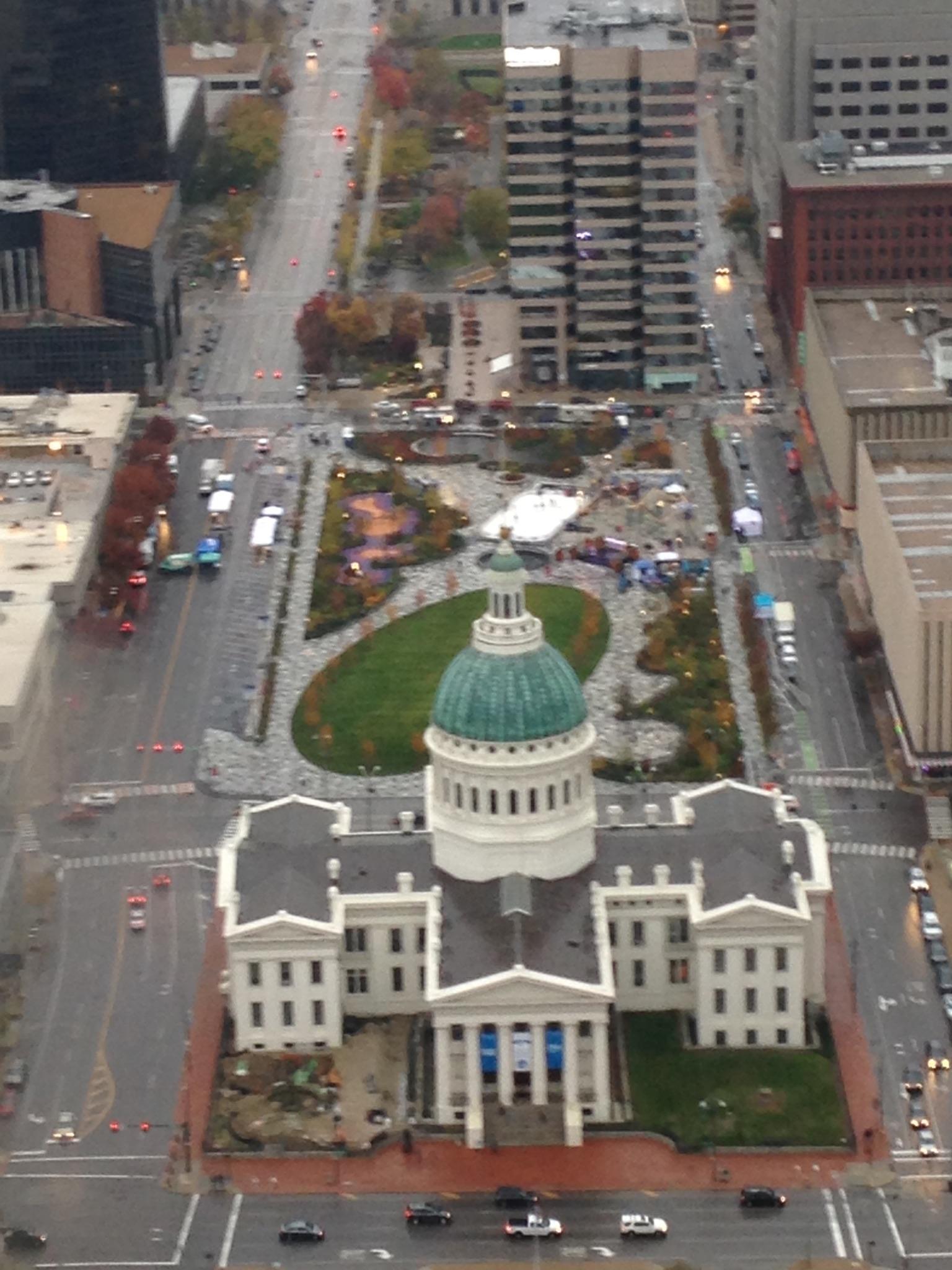 Gateway Arch, St. Louis, Missouri, thrill, ride, view, courthouse