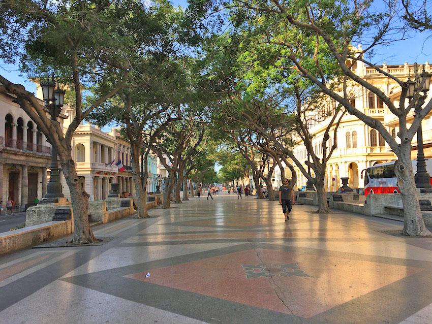 Havana, Cuba, Paseo del Prado, Unesco, travel, Caribbean