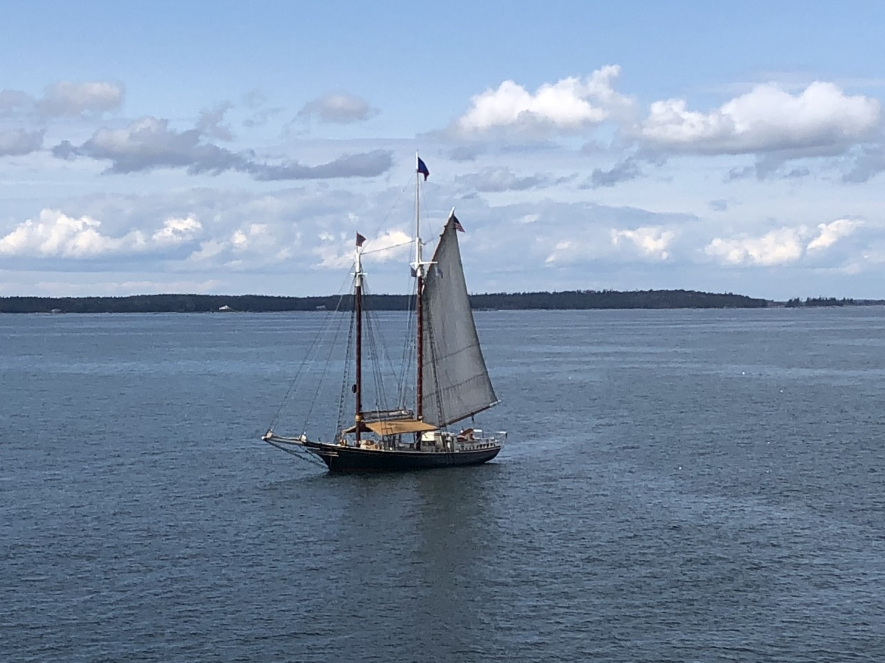 Sailing, Penobscot Bay, Maine, Stephen Taber, lobsters