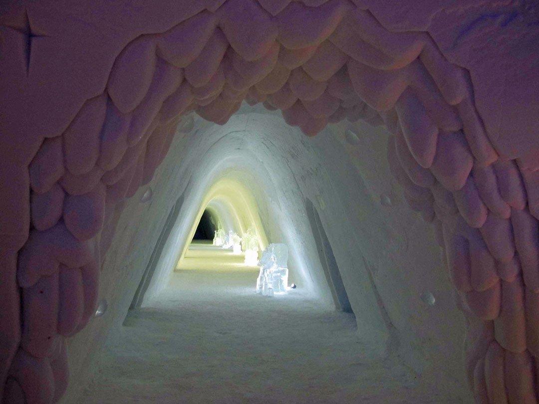 Sleeping Norway Snow Hotel