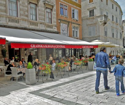 Split Croatia, on a European Adventure