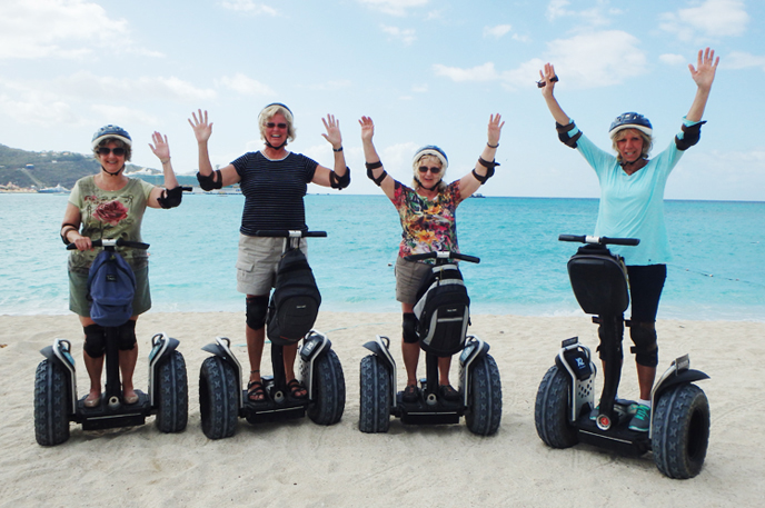 Midwest Seniors Run Away to the Caribbean
