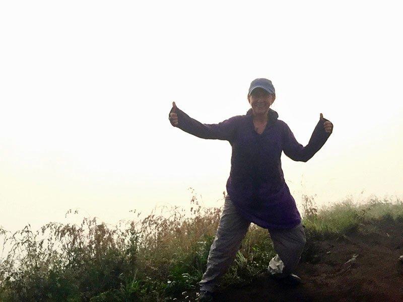 Bali volcanic Mount Batur: Paula Nandi Szabo
