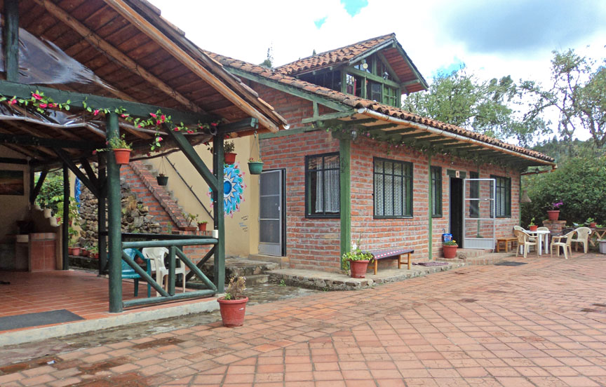 The Cottage, Gaia Sagrada, ayahuasca, Ecuador