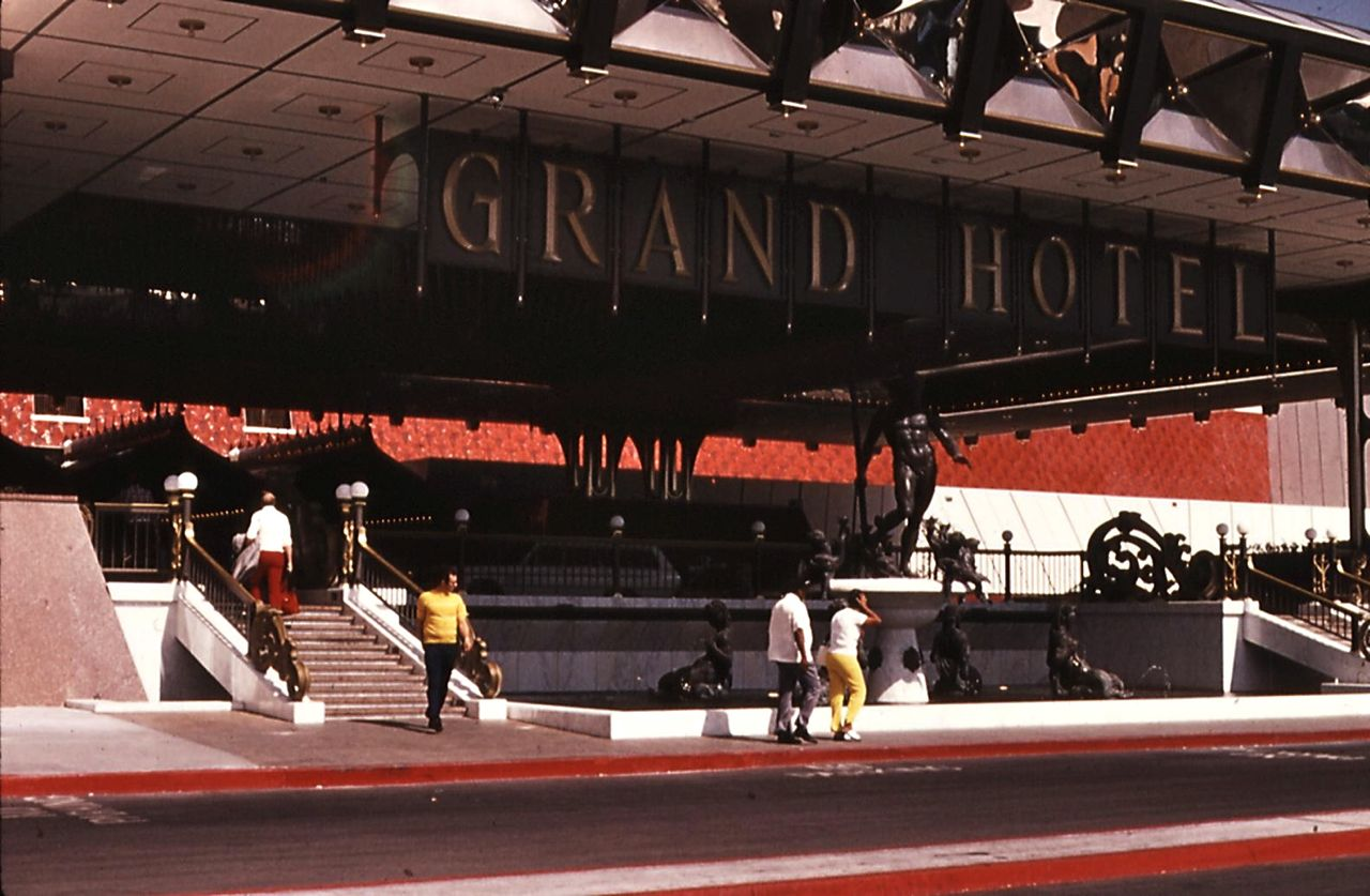 MGM Grand Hotel, Las Vegas, Strip, 1970s, seventies, gaming, casino