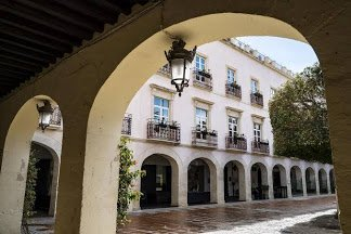 Exterior of the Aire Hotel and Ancient Baths Almeria