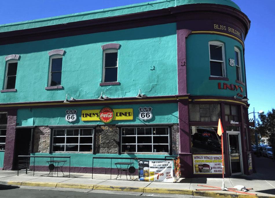 Old building in Albuquerque